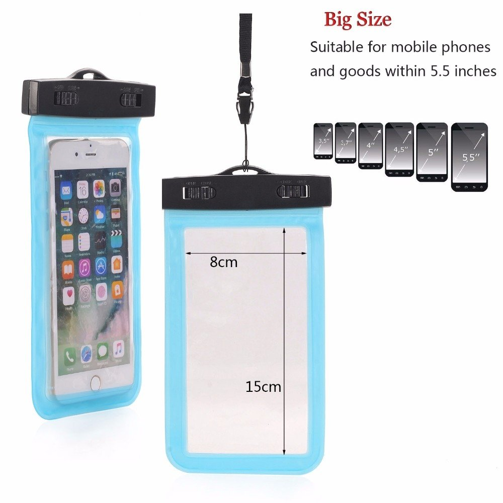 Universal Waterproof Bags Underwater Phone Case For iPhone 02